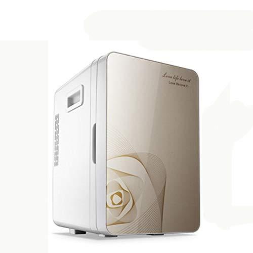 LIXUDECO Mini Nevera Congelador portátil 20 L Mini FRIGH Fright FRIGHERADOR Capa DE Coche A UNA Dual Uso Frigorífico de Coche Compacto 12/220 V Variaciones de Temperatura F-L18SA