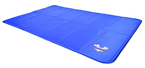 Dog Self Cooling Mat Pad for Kennels, Crates and Beds - Arf Pets