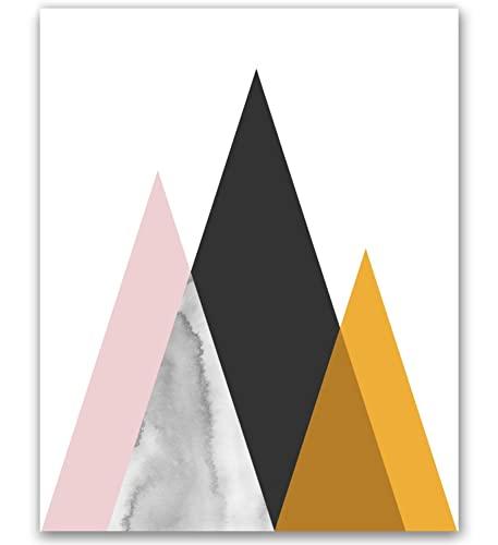 MotivatedWallArt Mid Century Modern Art Print Midcentury Min...