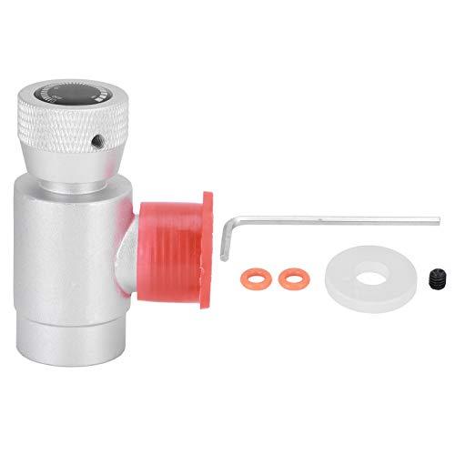 Dongyihunk CO2 W21.8‑14 Conector Adaptador de Recarga de Rosca Conector de Recarga de Fabricante de Soda de Aluminio Integrado