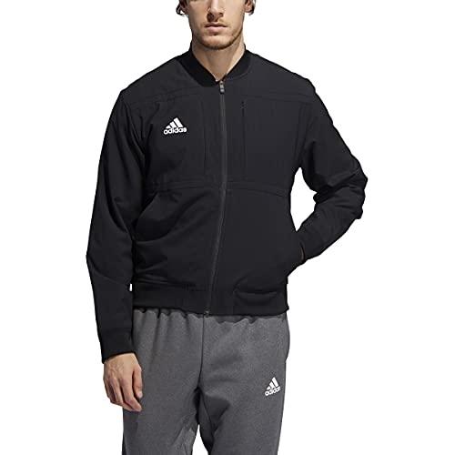 adidas Urban Bomber Jacket - Men's Casual 2XLT Black/White