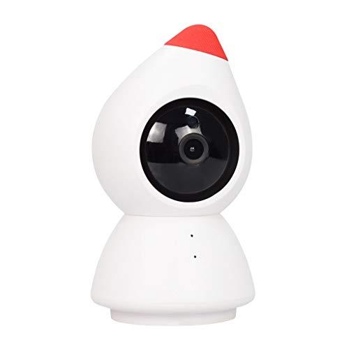 ZZSJC WiFi de la cámara de la Seguridad casera, cámara IP con Audio de 2 vías, Monitor del bebé, visión Nocturna, detección de Movimiento, Soporte de Tarjeta de 64G SD