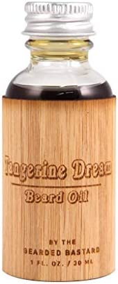 Tangerine Dream Beard Oil For A More Attractive and Healthy Beard Beard Care Grooming and Conditioner product image
