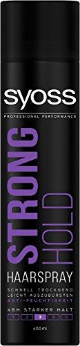 Syoss Haarspray Strong Hold Haltegrad 3, stark, 6er Pack (6 x 400 ml)