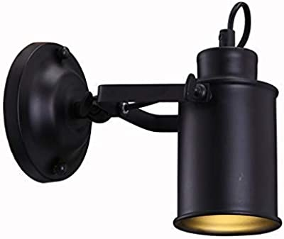 aluminio//acero GU10 20/x 11.8/x 15/cm SLV Phelia aplique Interruptor Negro