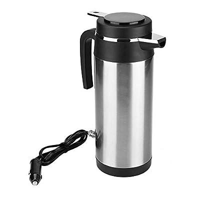 KIMISS 1200ML 12V / 24V Bouilloire électrique Bouilloire Coupe à boire de Voyage Tasse à Café de Voyage Bouteille d'eau