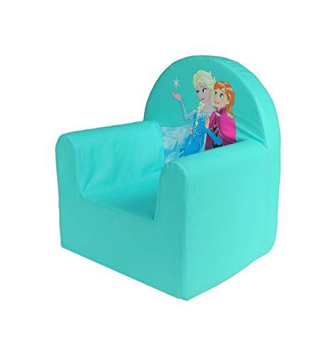 Musehouse Fauteuil pour enfant Motif Disney pour enfant Winnie l'Ourson et la Reine des neiges