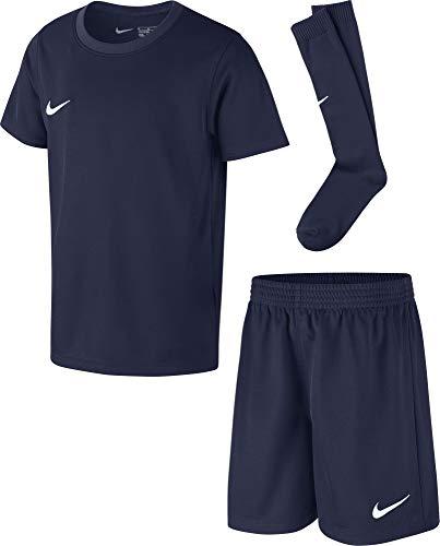 Nike Park 20, Completo da Calcio Bambino, Midnight Navy/Midnight Navy/Bianco, L