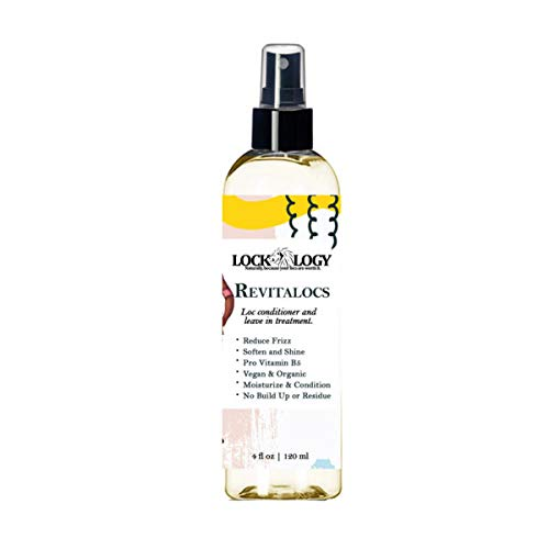 Loc Conditioner For Dreads   Dreadlocks Conditioner and Leave In Treatment Spray For Locs   Organic and No Build Up Dreadlock Hair Products by Lockology