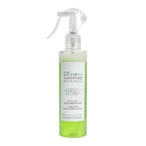 VICORVA ACONDICIONADOR BIFÁSICO   Árbol de Té y Extracto de Corteza de Limón   Protección y suavidad para tu cabello   250ml