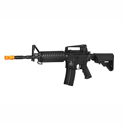 lancer tactical lt-03b m4 electric airsoft gun metal gear fps-400(Airsoft Gun)
