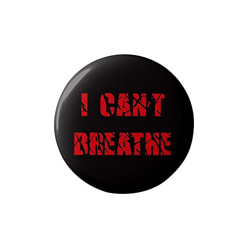 I Can't Breathe George Floyd Black Lives Matter Pin,3 INCH Badge Pin for Jackets Anti-Racism BLM Movement Equality Social Change Political Button Pinback