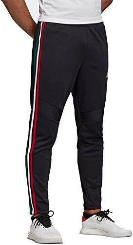 adidas Men's Tiro '17 Pants (Core Black/Power Red/White, X-Large)