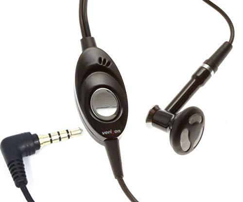 Mono Headset Wired Earphone Handsfree Mic 3.5mm for Moto G Stylus, Headphone Single Earbud in-Ear Compatible with Motorola Moto G Stylus