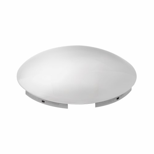 Grand General 10514 Chrome Front Hub Cap with 7/16' Lip and 5 Uneven Notches