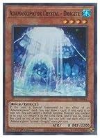 遊戯王 英語版 Adamancipator Crystal(SR)(1st)(魔救の奇石-ドラガイト)