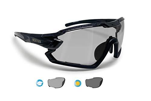 Bester der welt BERTONI Fahrradbrille Sportbrille MTB Brille Verschreibungspflichtige Fahrradbrille für Benutzer Mod….