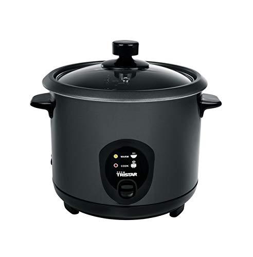 autom. Reiskocher Black-Edition Dampfgarer Dampfkocher 1,5L + Zubehör