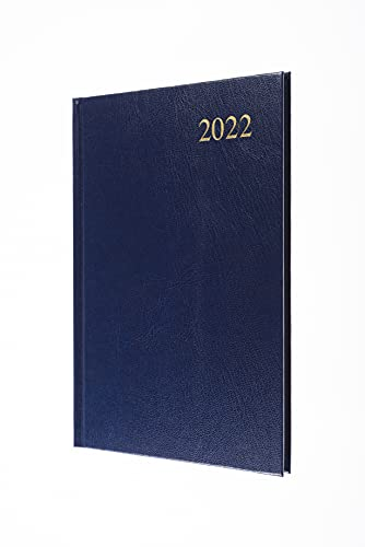 Collins Essential A5 Week to View 2022 Diary – Blue