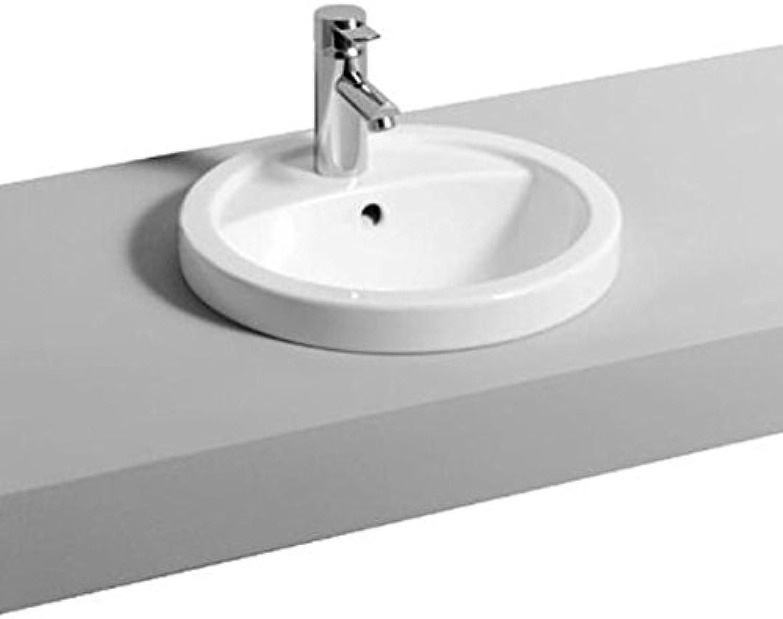Keramag Einbauwaschbecken Preciosa 248110, D  42cm wei(alpin) 248110000