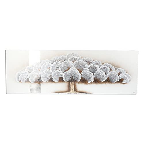 Cuadro Pintado a Mano Árbol Cuadro para Pared Decoración Salon Dormitorio Cuadro Acrilico 40X120 cm - Estilo F