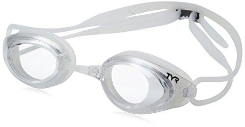 TYR Blackhawk Racing Googles, Smoke/Clear, One Size