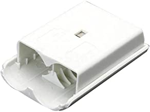 2pcs White Battery Pack Cover Shell Case Kit for Xbox 360 Wireless Controller