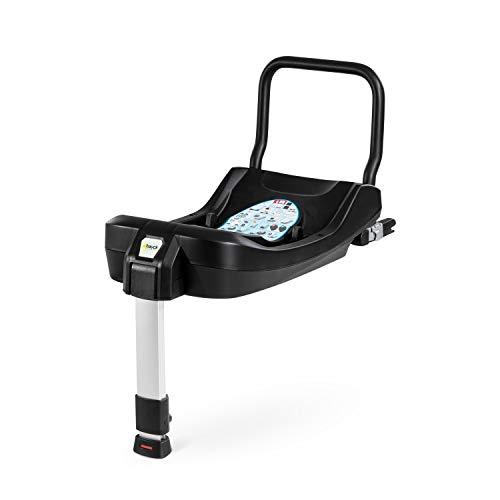 Hauck Base Isofix - Base para Comfort Fix de la marca HAUCK, cumple normativa ECE, con 3 indicadores de color al anclar para major seguridad, Grupo 0+, 0 a 13 kg, negro