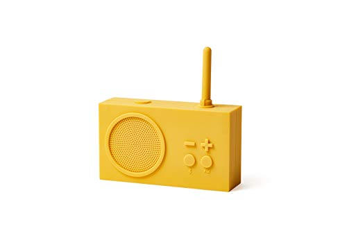 Lexon TYKHO 3 Radio FM + Altavoz Bluetooth Amarillo