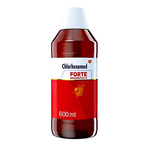 Chlorhexamed forte alkoholfrei 0,2% Lösung, 600 ml Lösung