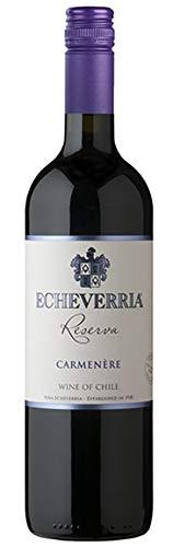 Viña Echeverría, Carmenère Reserva, VINO TINTO (caja de 6x75cl) Chile/Valle de Curicó