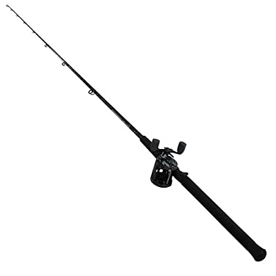 Abu Garcia Catfish Commando Fishing Rod and Reel Combo, 7 Feet, Medium Heavy Power
