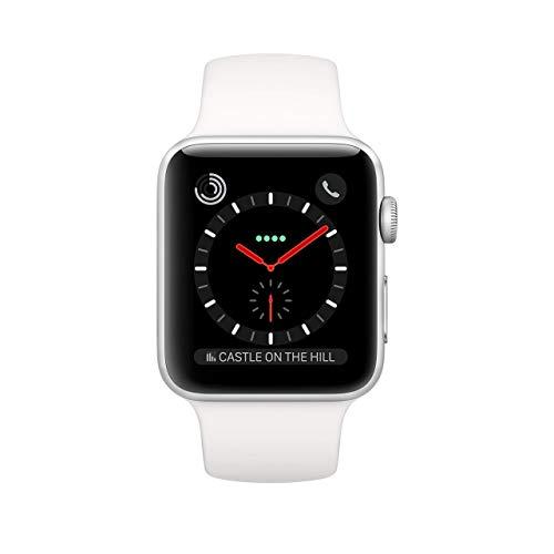 Apple Watch Series 3 42mm (GPS + Cellular) Bianco (Ricondizionato)