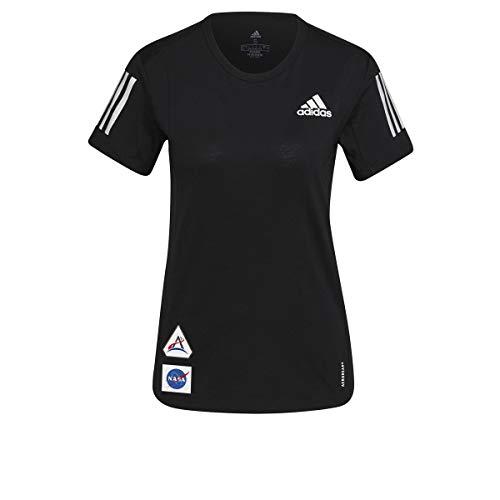 adidas GP5828 Space Tee W T-Shirt Donna Black XS