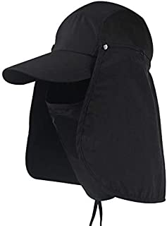 UV 50 Protection Outdoor Multifunctional Flap Cap Sun Mask Perfect Sport Hat Baseball cap
