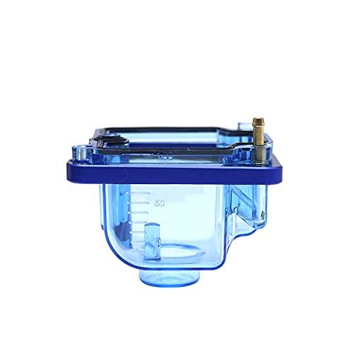 Compatible para PWK PZ Kit de reparación de carburador Flotador Bowl PWK I/II/III PWK IV/KSR EVO PZ26/27/30/32 Carbohidratos (Color: B azul)