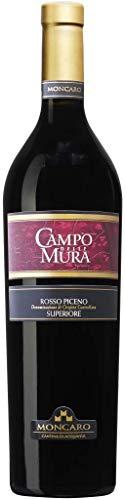 Moncaro Campo Delle Mura Rosso Piceno Doc Superiore Vino Rosso - 750 ml