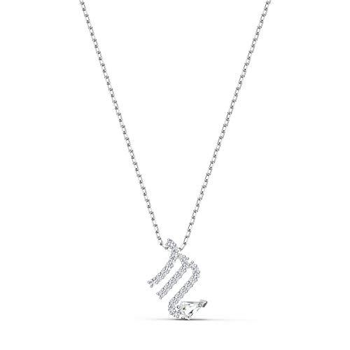 Swarovski Colgante Zodiac II, Escorpio, blanco, combinación de acabados metálicos