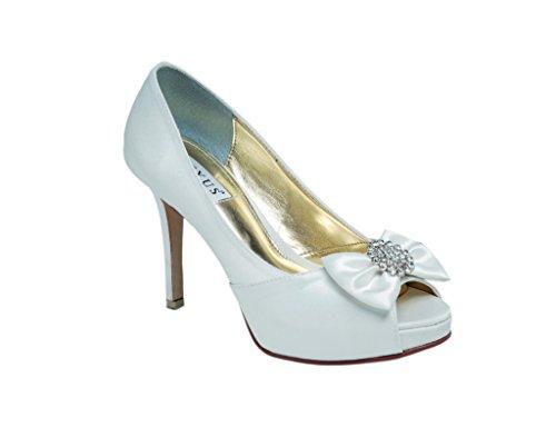 Ladies Lexus Bridal Peep Toe