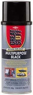 Great Stuff 99054816 Multi-Purpose Foam Sealant, Black, 12-oz. - Quantity 12