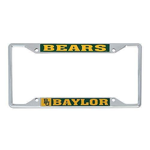 Desert Cactus Baylor University Bears NCAA Metal License Plate Frame for Front Back of Car Officially Licensed (Mascot)
