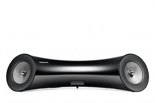 Samsung DA-E651/EN 2.1 Lautsprecher mit Dock für Apple iPod/iPhone (40 Watt, Bluetooth, USB Direct Play) schwarz