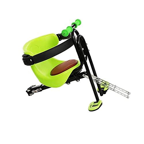 RVTYR Frente niño Bicicleta Silla de Montar Pedal Plegable con asa para...