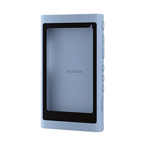 エレコム Walkman A 2018 NW-A50シリーズ対応 シリコンケース AVS-A18SCBU ブルーAVS-A18SCBU ブルー