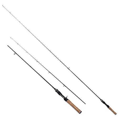 DAUERHAFT Mini Angelrute Angelrute Hochwertige Angelausrüstung Leichte Angelrute zum Angeln, für Süßwasserfische(1.8 Meters, Gun Handle)