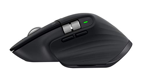 Logitech MX Master 3 Advanced Maus – Schwarz – Business Edition [Dual Connect, 2,4GHz & Bluetooth] - 4