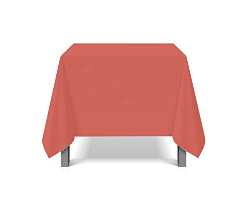 eXODA Nappe de Vinyle imperméable Waterproof Rouge 200 x 230cm