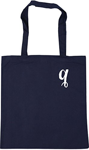 HippoWarehouse Alphabet Pocket Q Tote Shopping Gym Beach Bag 42cm x38cm, 10...