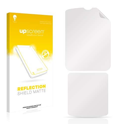 upscreen Entspiegelungs-Schutzfolie kompatibel mit Motorola Razr V3i – Anti-Reflex Bildschirmschutz-Folie Matt