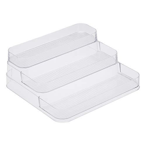 Amazon Basics - Recipienti in plastica a ripiani per la cucina